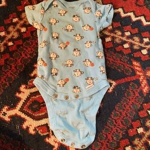 Other - Baby Boy 3-6 Months Monkey Playing Sports Onesie